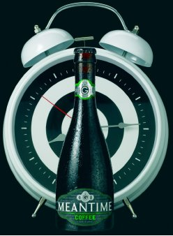 Publicity photo of meantime coffee stout