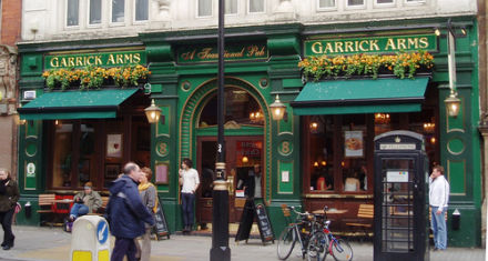 The Garrick Arms (photo by EwanM, from Flickr)