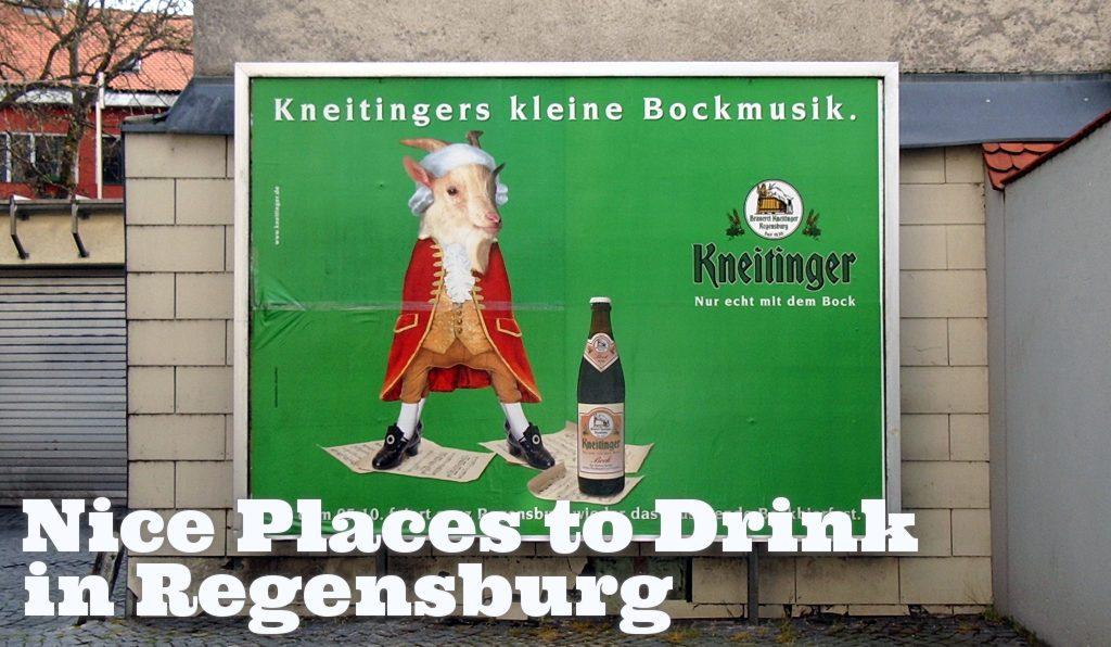 A Kneitinger bock advertisement from 2007.