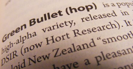 Detail of text from the Oxford Companion to Beer