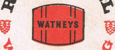 Watneys Red Barrel: detail of beer mat c.1968
