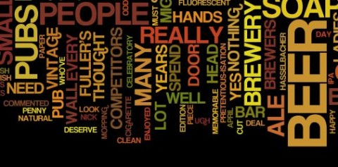 Word cloud from our blog