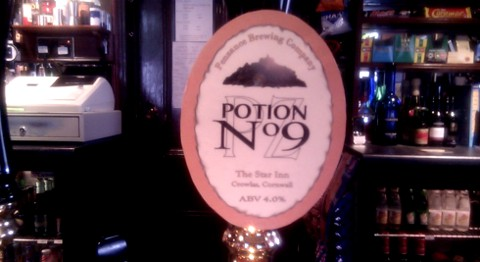Potion 9 pumpclip at the Star Inn.