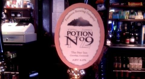 Potion 9 pumpclip at the Star Inn.