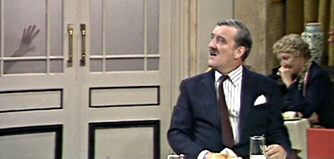 Bernard Cribbins in Fawlty Towers: The Hotel Inspectors.