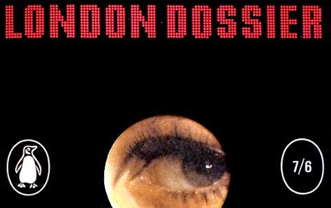 Detail from the cover of Len Deighton's London Dossier, 1967.