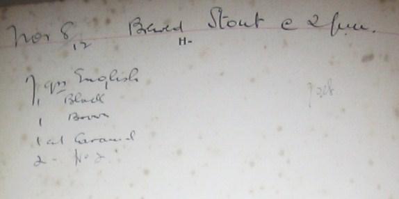 1912 St Austell Stout