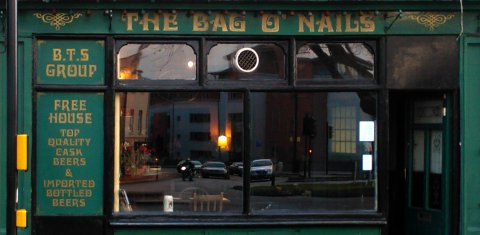 The Bag of Nails pub, Bristol, photographed by Stephen Powell.