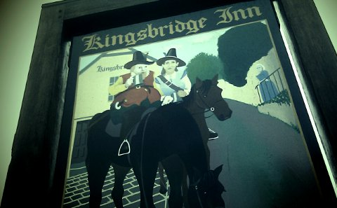 Kingsbridge Inn, Totnes, Devon.