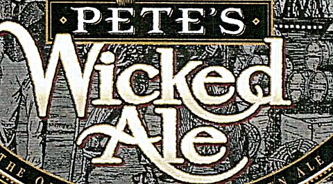 Pete's Wicked Ale -- label detail.