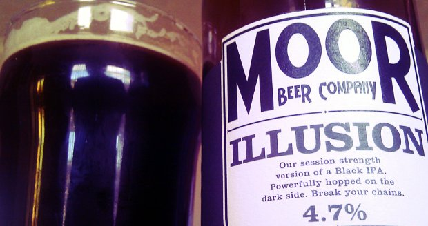Moor Illusion black IPA