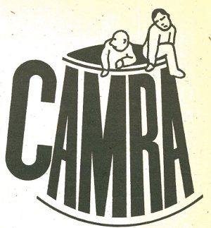 Header for CAMRA's What's Brewing letters page, mid-70s.