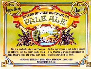 Sierra Nevada Pale Ale 1981.