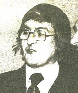 Terry Pattinson, c.1975.