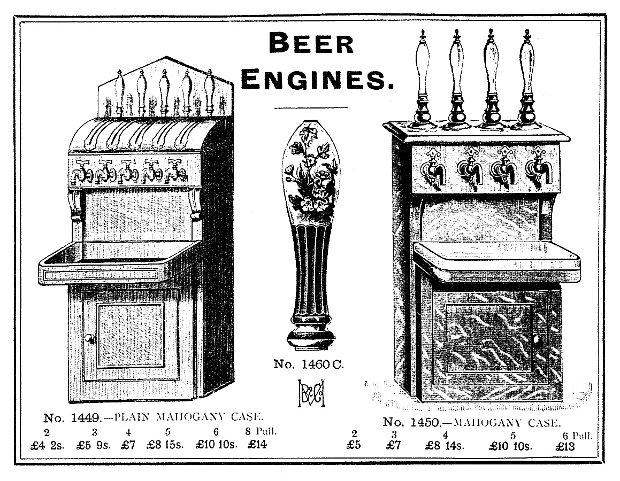 Victorian beer engines.
