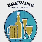 Detail from the cover of Home Brewing Without Failures by H.E. Bravery.