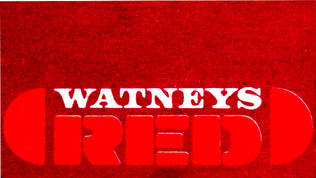 Detail from a Watneys Red Beer Mat.