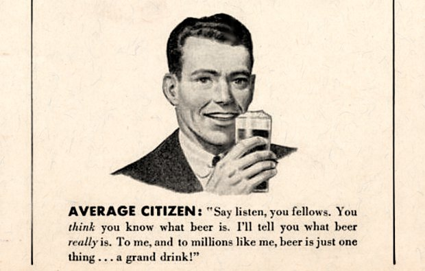 Beer is a grand drink.