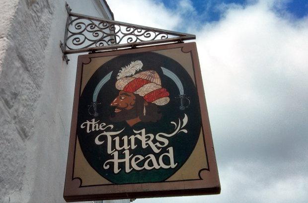 The Turks Head pub, Scilly.