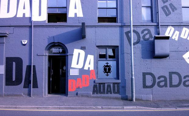Dada bar in Sheffield.