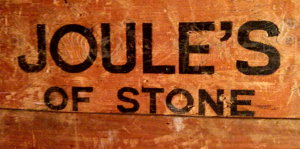 Joule's of Stone brewery advertising.