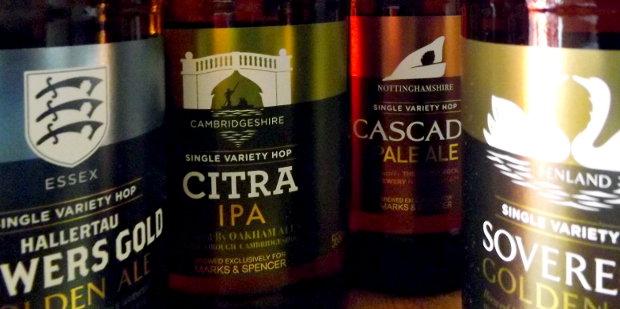 Marks And Spencer Craft Beer Range
