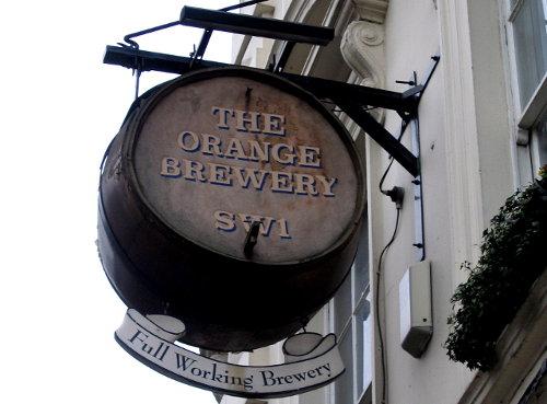 The Orange Brewery, Pimlico.