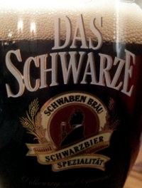 Schwaben Brau Das Schwarze beer.