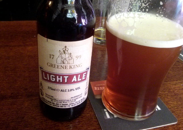 Light split (HSD and Light Ale).