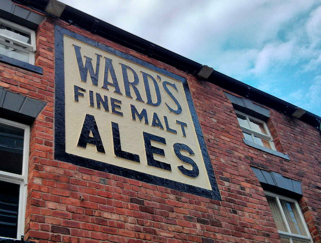 Ward's sign, Sheffield.