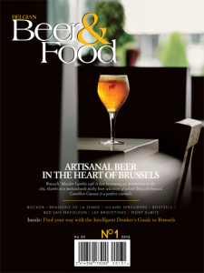 Belgian Beer & Food Issue 1