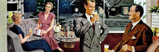 Beer at Christmas.
