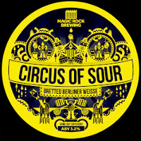 Circus of Sour pump clip.