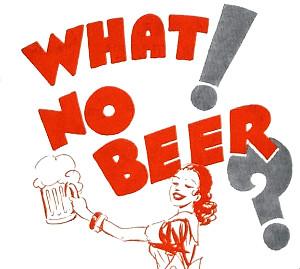 What! No beer blogging?