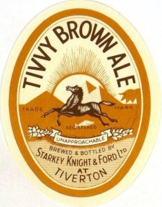SK&F Brown Ale label, 1948.
