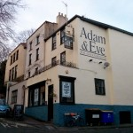 Adam and Eve pub, Hotwells, Bristol.