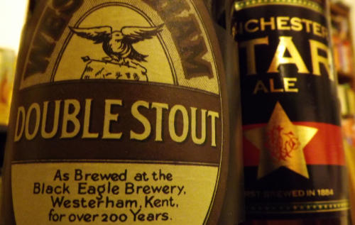 Westerham and J.W. Lees historic beers.