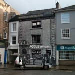 The White Lion 1898 overlaid on the building as it is today.