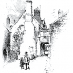 White Hart, Lewes, Sussex.