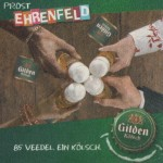 Detail from a Gilden Kölsch beer mat c.2007.