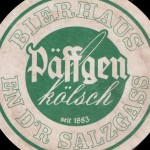 Detail from a Päffgen Kölsch beer mat c.2007.