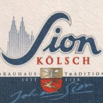 Detail from a Sion Kölsch beer mat c.2009.
