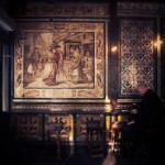 The Ten Bells, Whitechapel, decorative tiles.