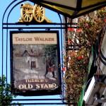London pub: Turner's Old Star, Watts Street, Wapping.