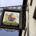 The Kings Arms, Penryn. The typeface is a dead giveaway: surely a former Devenish house.
