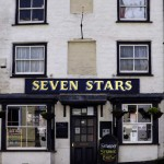 The Seven Stars, Penryn. I didn't pop in this time but we have drunk here before: Sam Smith's Old Brewery Bitter, oddly enough. Teen Wolf was on the telly. Sort of liked it.