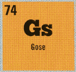 Gose 'element' from the periodic table of beer.