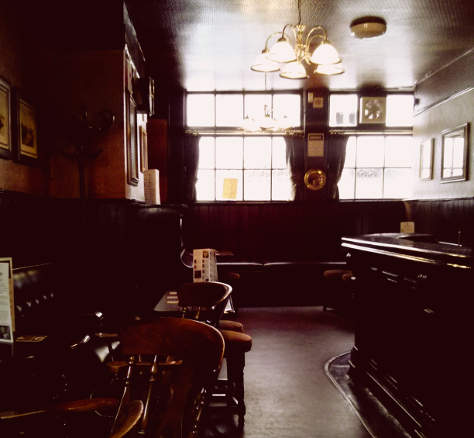 The Anchor Tap, Tower Bridge.