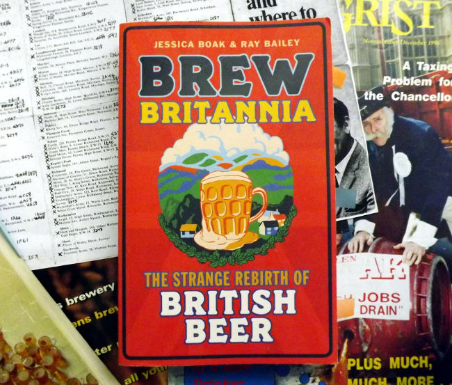 Front cover of Brew Britannia.
