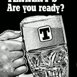 Tennent's lager advertisement, 1978.